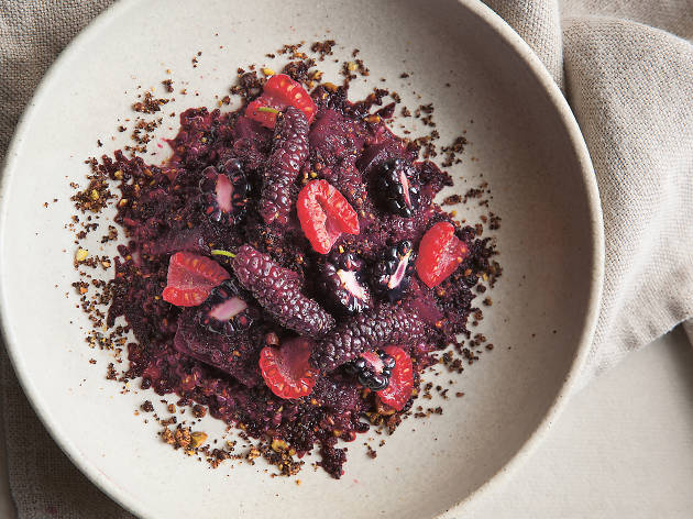 Rustic Canyon's Beets and Berries by Jeremy Fox On Vegetables
