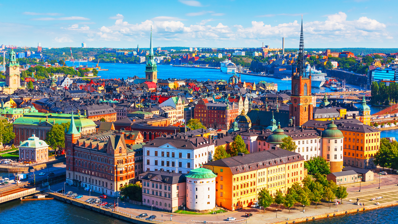 The Stockholm skyline