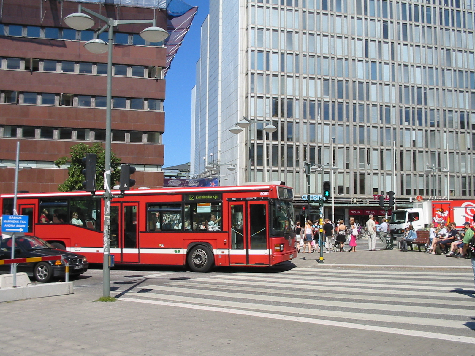 Bus, Stockholm