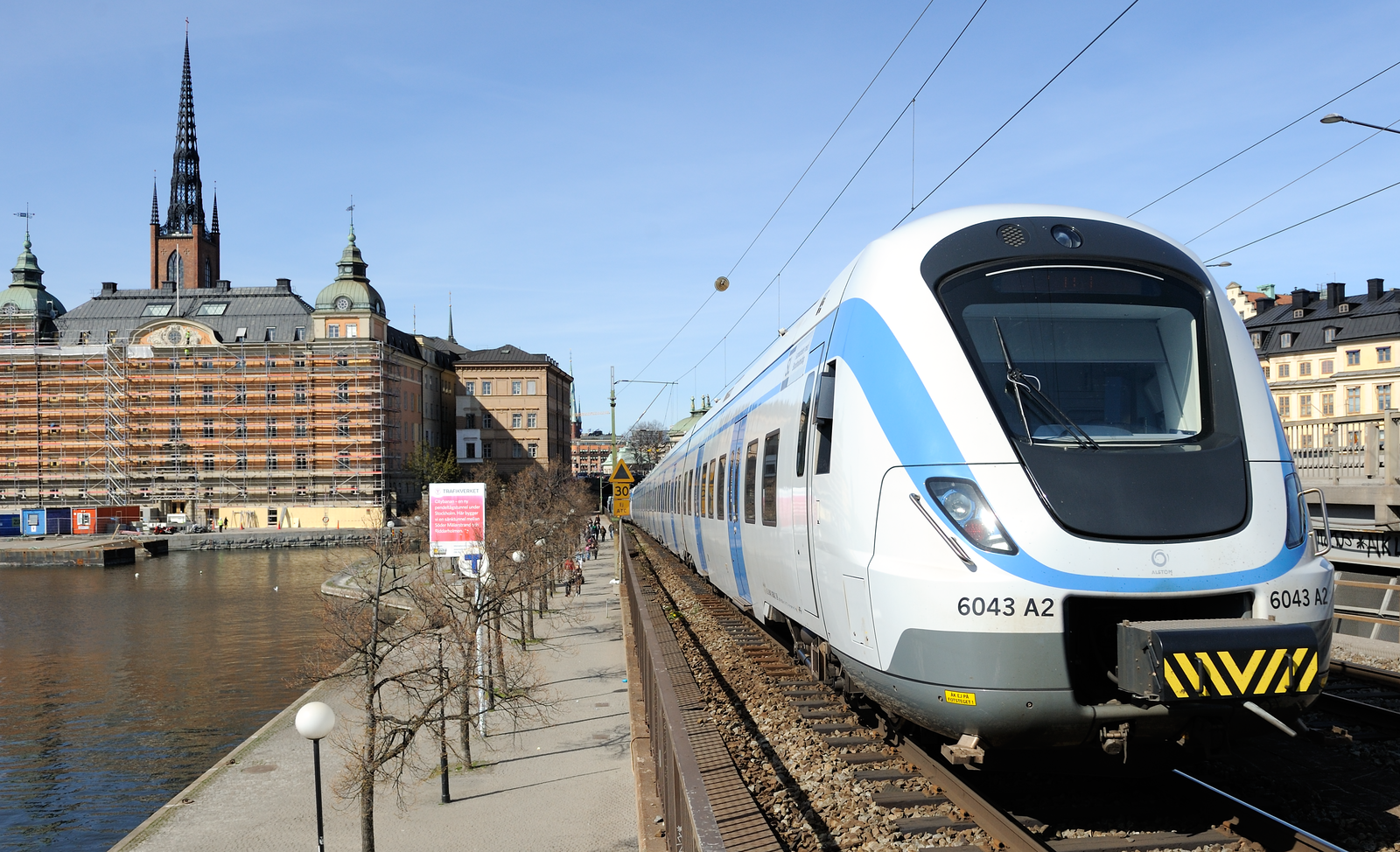 Train, Stockholm