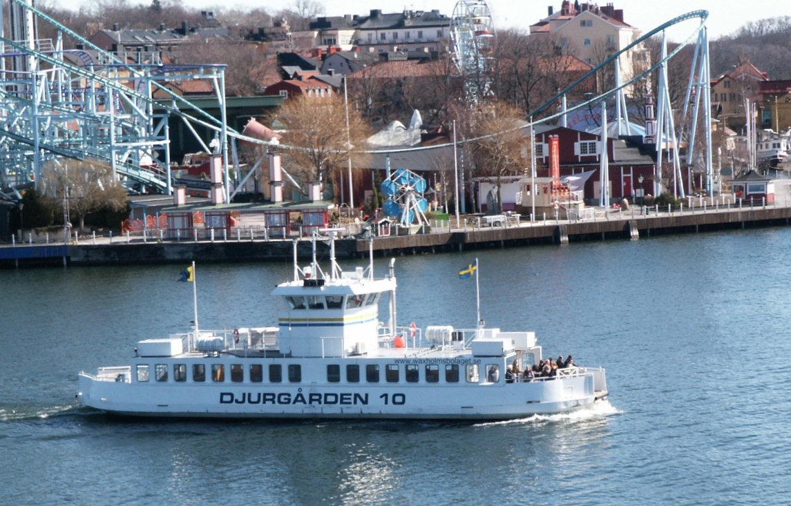 Ferry, Stockholm