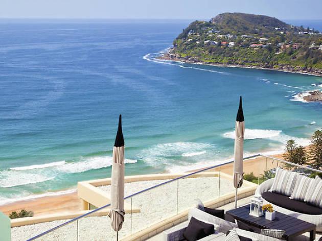 Jonah's hotel view