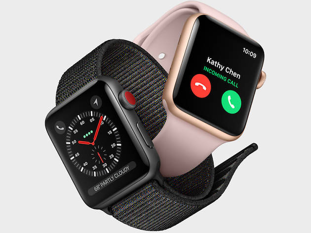 Apple Watch Series 3 fitness tracker