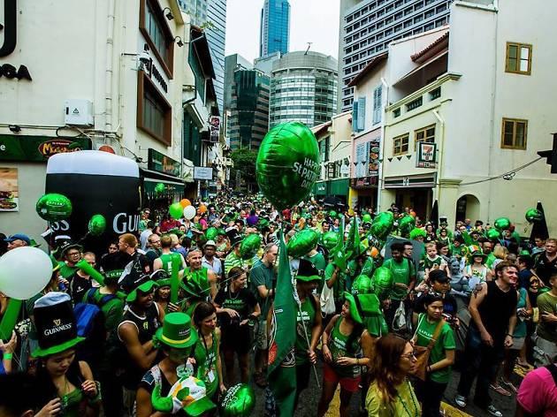 St Patrick's Day Street Festival