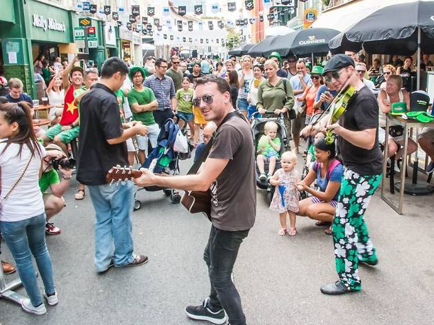 The best St Patrick's Day events in Singapore