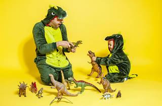 Dinosaurs Janek and Andrzej