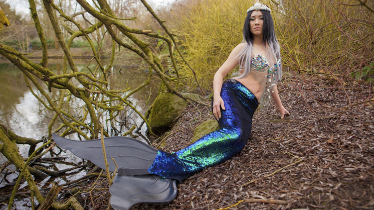 Meet the Londoner who's a mermaid in her spare time