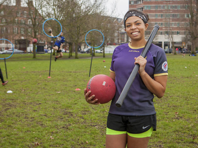 Ever wanted to try quidditch? We asked a London team captain what it's all about