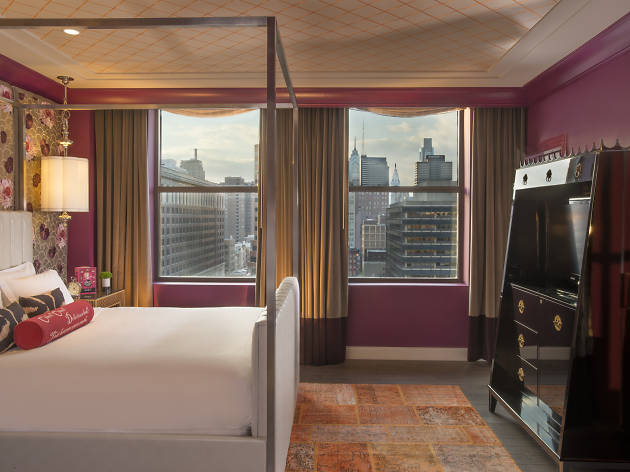 Kimpton Hotel Monaco is located in Philadelphia Historic Old City neighborhood