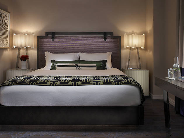 The Kimpton Hotel Palomar is located near Rittenhouse and offers in-room spa treatments