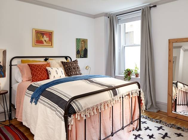You can book one of two gorgeous rooms at the Touraine Apartments