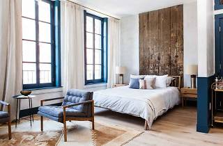 The Lokal Hotel is a boutique hotel located in Philadelphia's Old City neighborhood