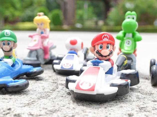 Have you tried using Mario Kart in Google Maps?