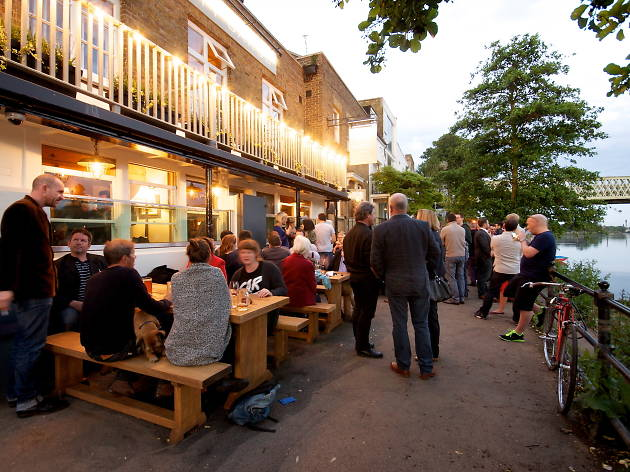 city barge, london's best riverside pubs and bars