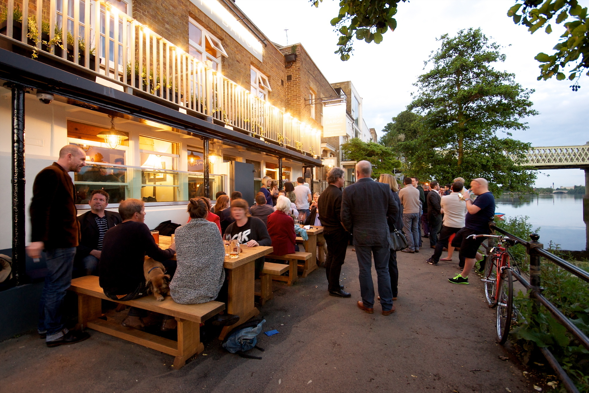 London's best riverside pubs and bars
