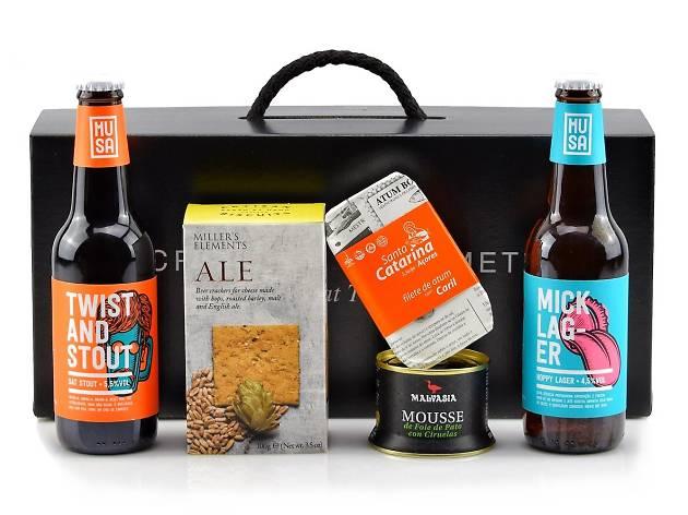 gourmet in a box, caixa por subscrição