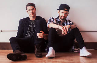 The band Timeflies is a pop duo from Boston