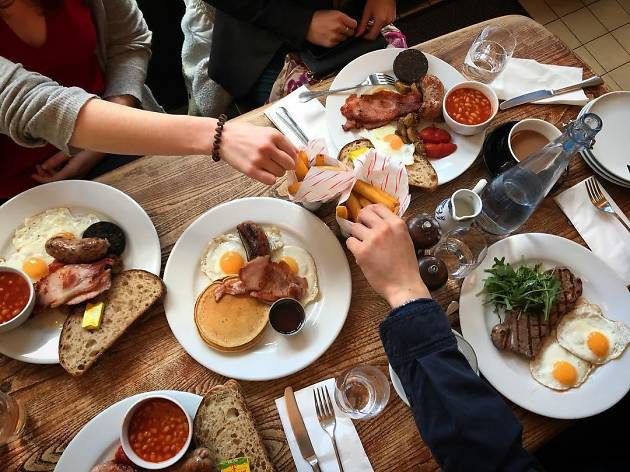 Ginger Pig Cafe, Hoxton, restaurant, Time Out, London