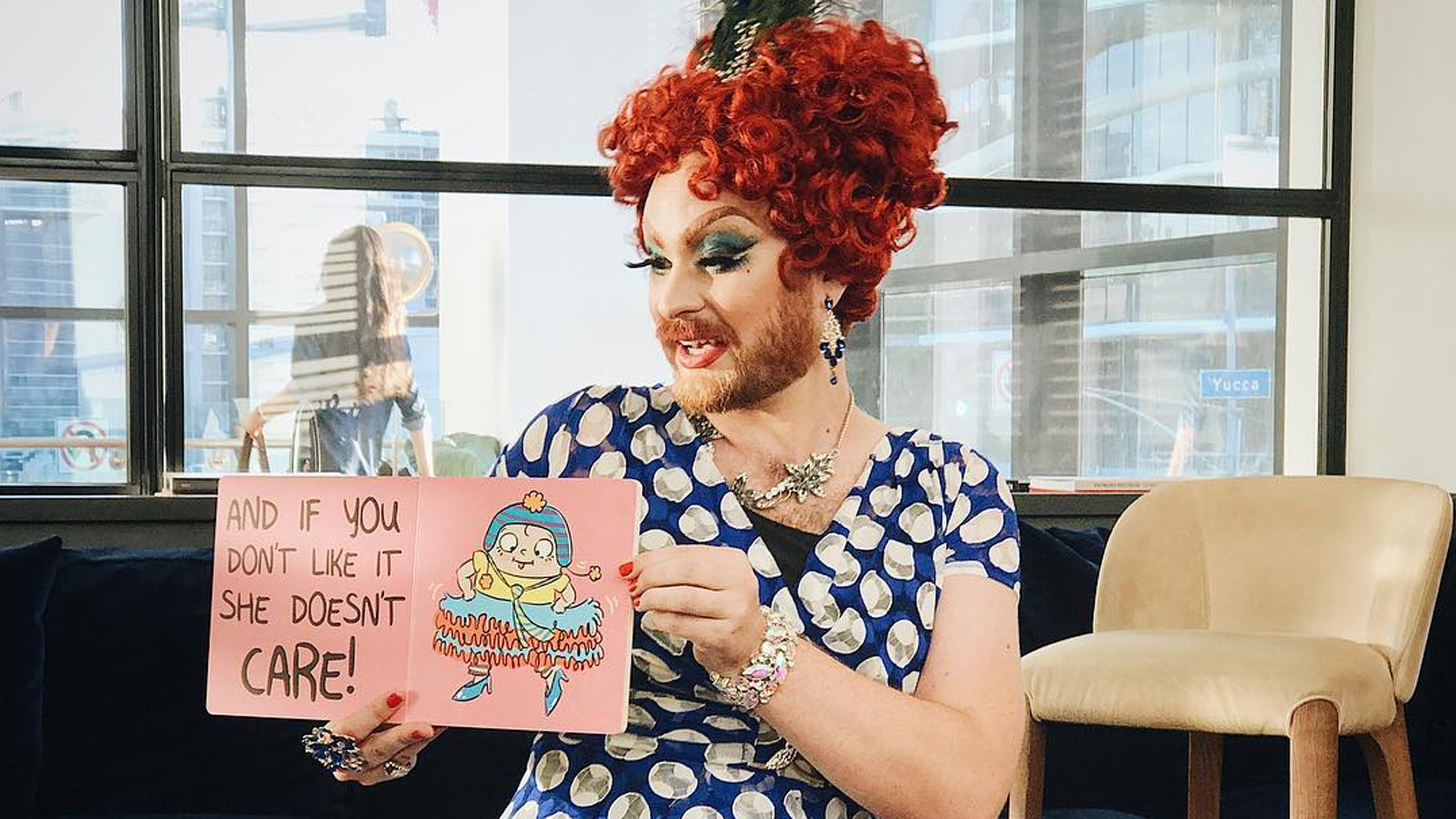 Children's literature and gender nonconformity come together at Drag Queen Story Hour