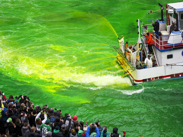 The inside scoop on the Chicago River dyeing