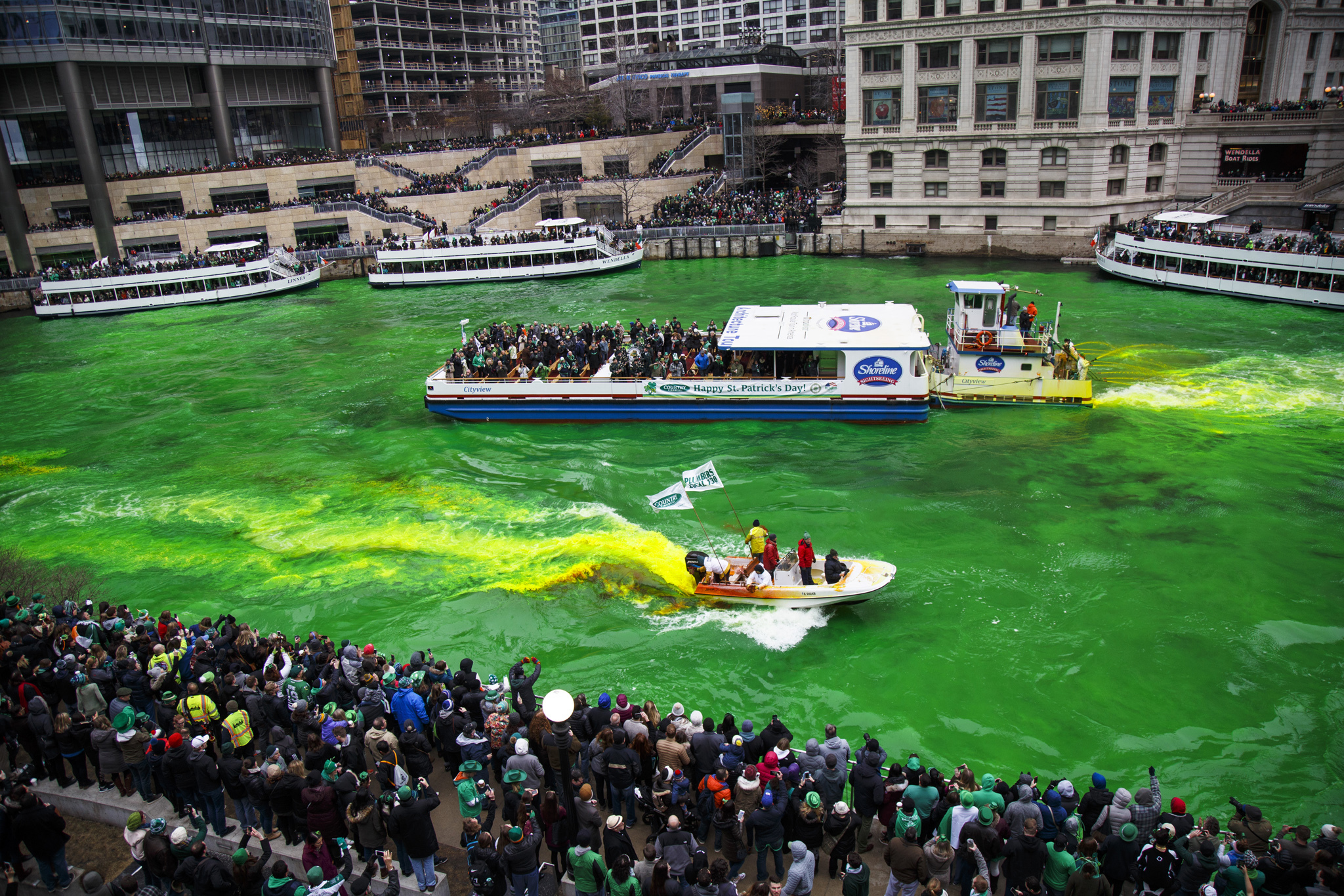 Chicago's St. Patrick's Day parades aren't happening this year