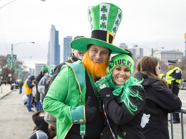 Image result for Old St. Pat's near the West Loop on st patricks day