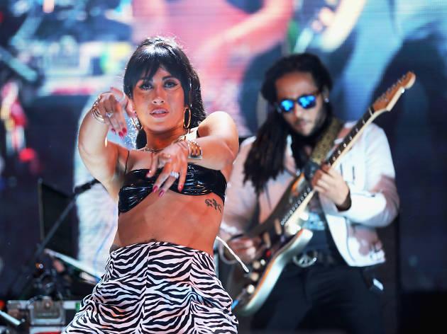Kali Uchis en el Vive Latino 2018