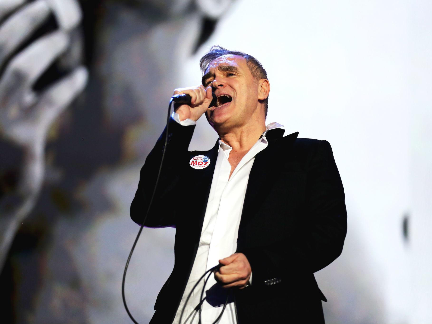 Morrissey en Vive Latino 2018