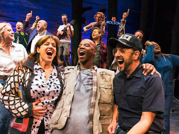 Come from Away 2018 Broadway cast photo credit: Matthew Murphy