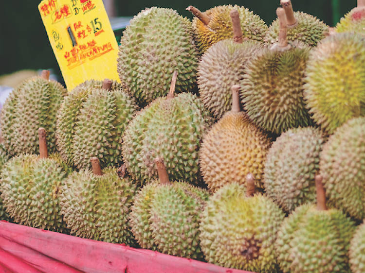 When is durian season?