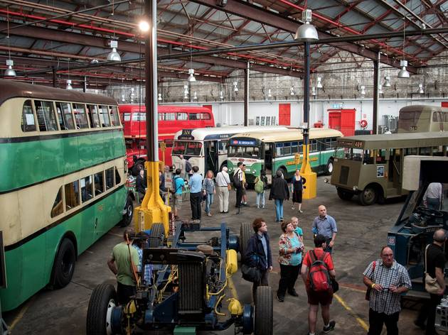 Bus people at Sydney Bus Museum