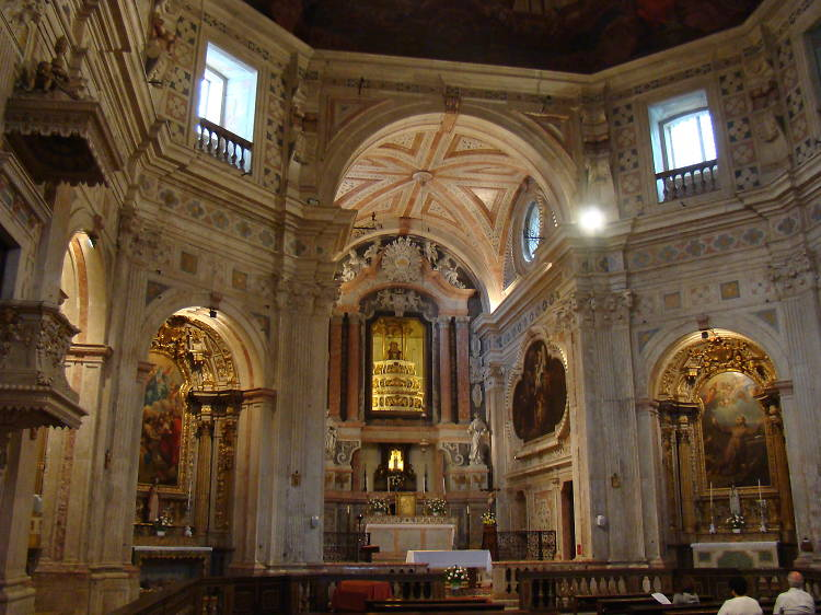 A igreja que sobreviveu ao terramoto de 1755