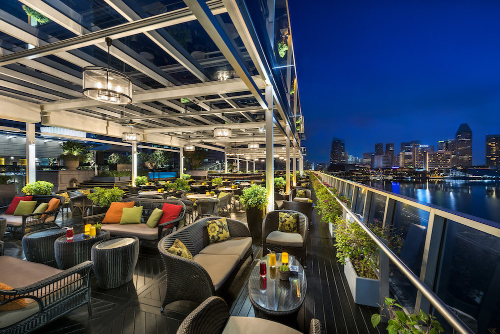 11 best rooftop bars in Singapore