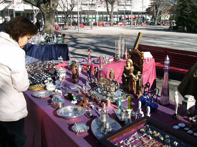 Feira de Antiguidades e Velharias