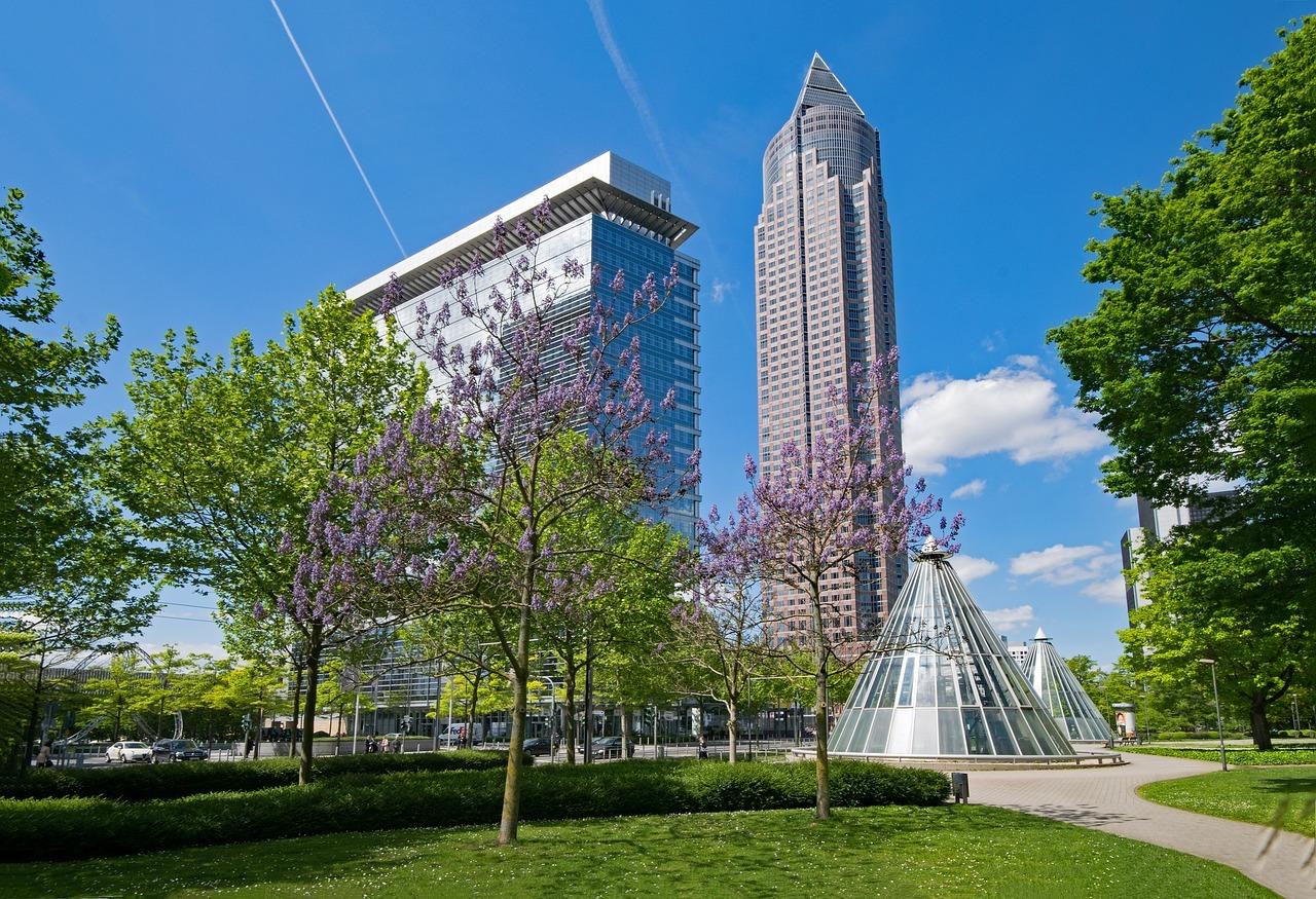Spring in Frankfurt