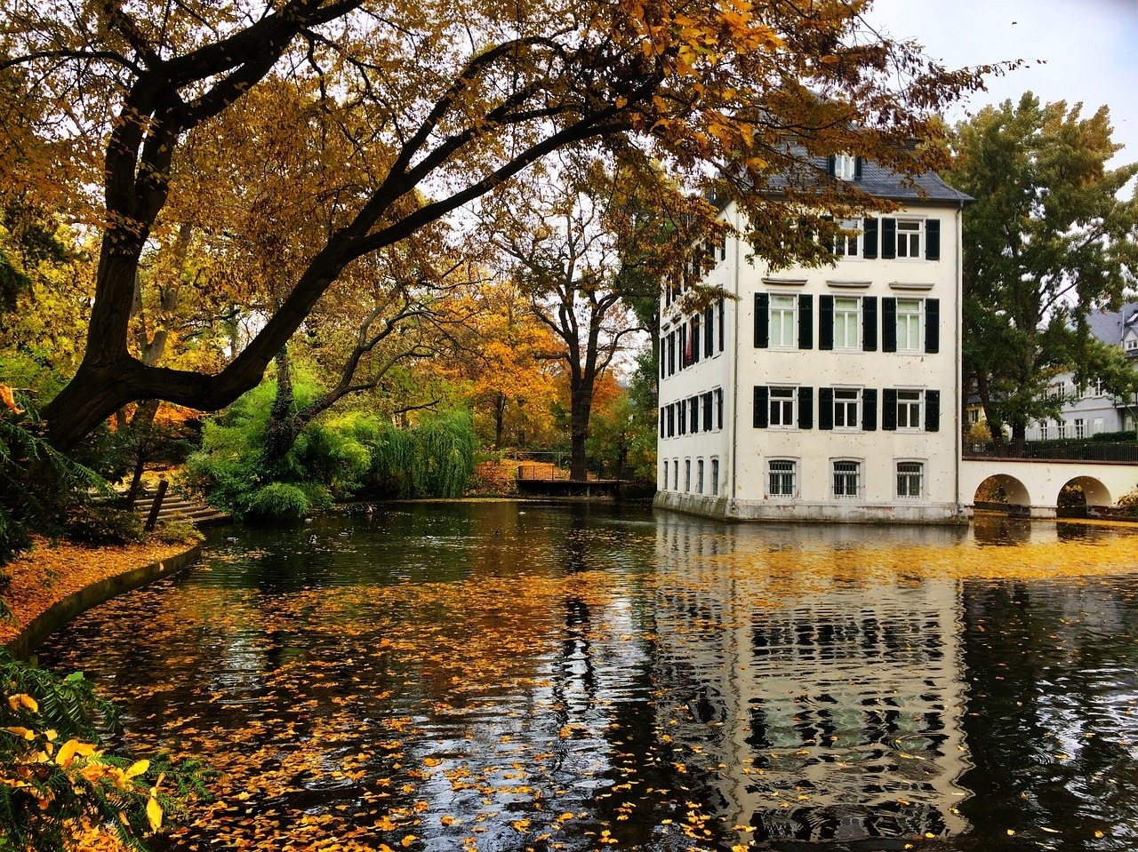 Frankfurt Holzhausen Park