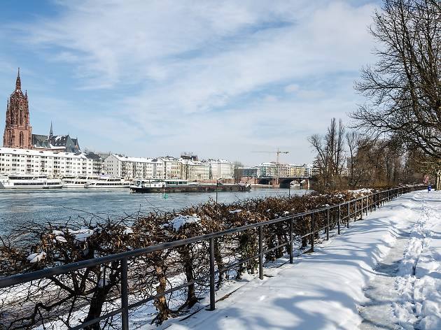 Winter in Frankfurt