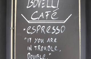 Bovelli, cafe, Zurich