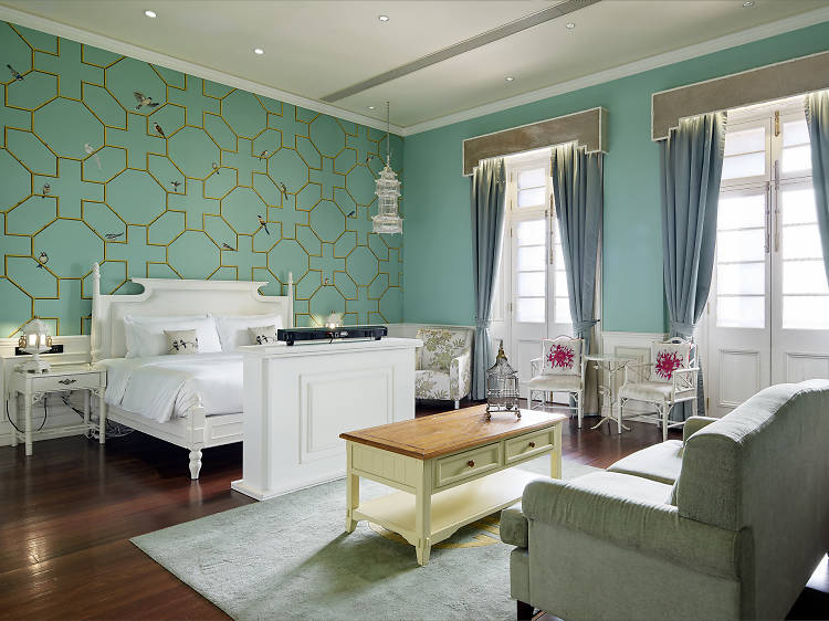 Plan a romantic staycation