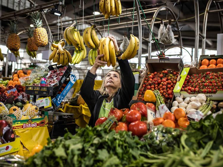 Entregas de produtos dos Mercados de Alvalade