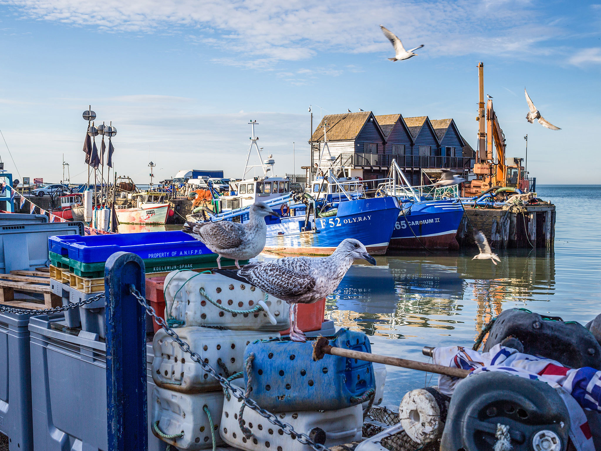 Whitstable - day trips from London 2018