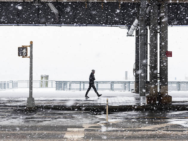 New York is about to kick off spring with up to six inches of snow