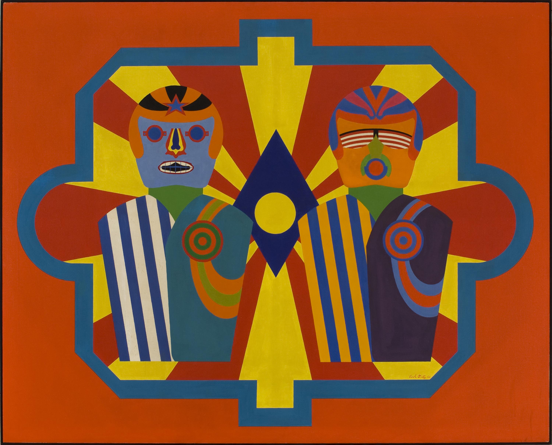 Errol Ortiz, Astronaut Targets, 1965.