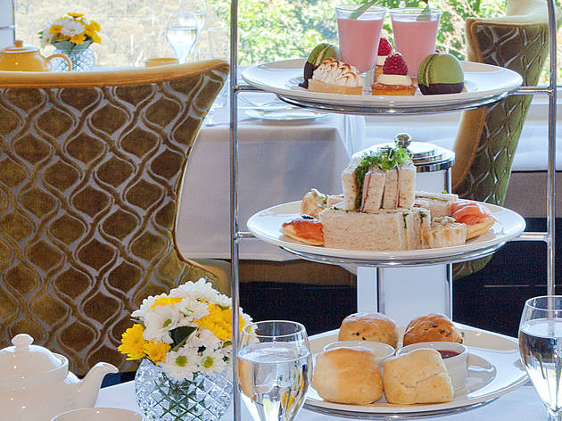 High tea at Hydro Majestic