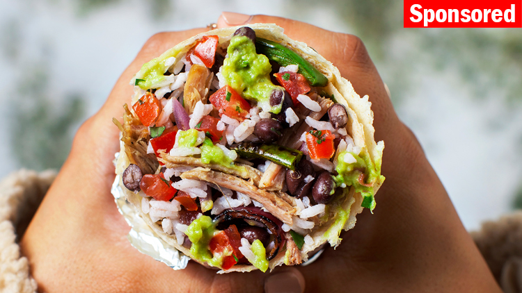Win a year's supply of burritos from Chipotle