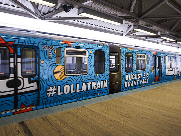 Some of Lollapalooza's 2018 lineup may have been revealed by the Lolla Train playlist