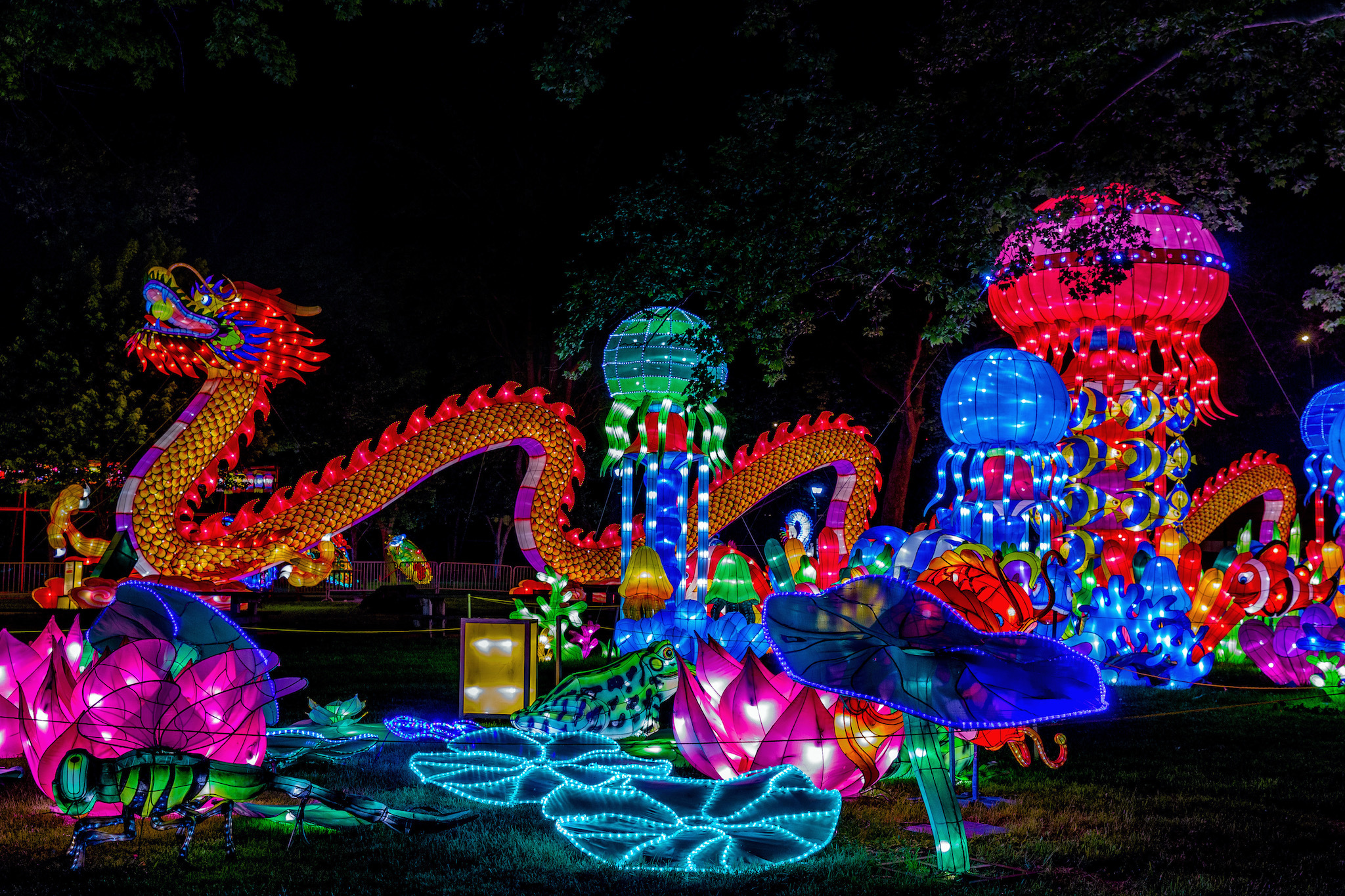 The Philadelphia Chinese Lantern Festival lights up Franklin Square this May and June