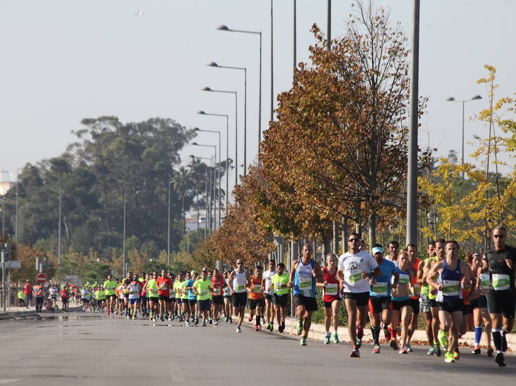 Sete corridas de Primavera em Lisboa