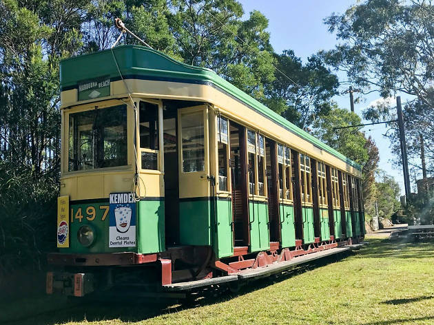 Old Sydney tram outside