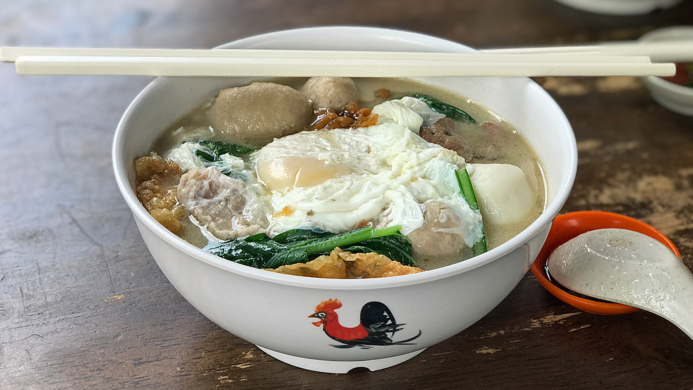 Restaurant Shangri-La pork noodles